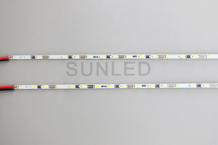 Ultra Thin DC 12V 90leds 13000k Rigid LED Strip Lights 4014 Hard Light Bar